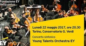 CasaOz - Concerto Young talent orchestra EY a sostegno di casaoz