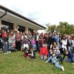 CasaOz - foto di gruppo in gita