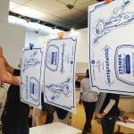 """CasaOz - laboratorio di serigrafia dal titolo """"serigrafatOz"""""""