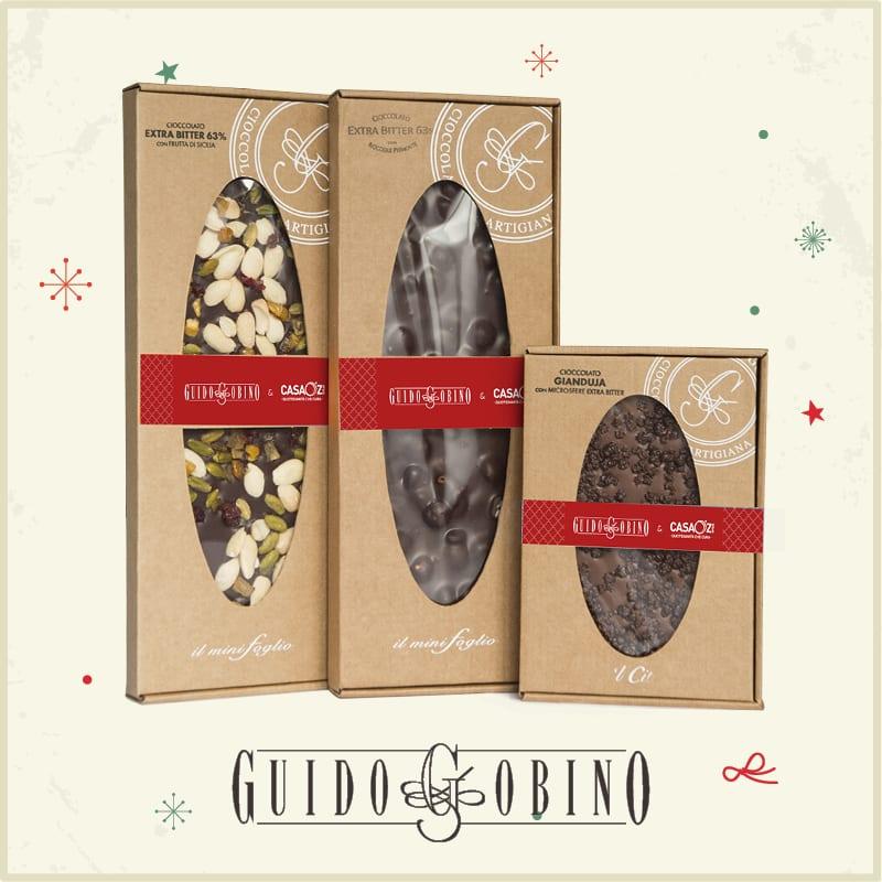 CasaOz - Idee regalo per Natale con i prodotti Guido Gobino