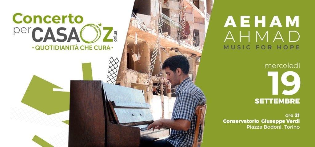 Concerto del pianista Aeham Ahmad a favore di CasaOz ba5bbcf6fad7
