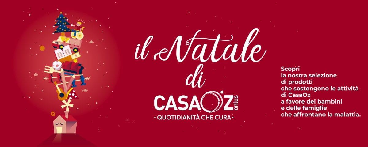 Regali Di Natale Onlus.Natale 2018 Con Casaoz Casaoz